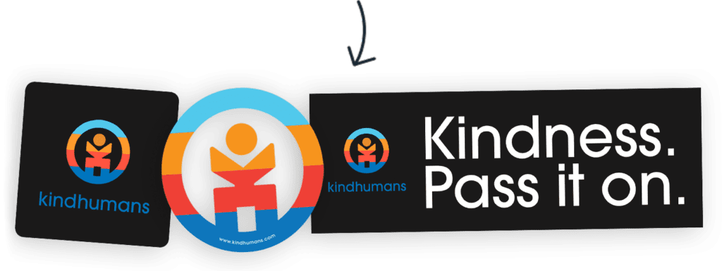 kindhumans stickers
