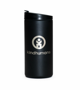Kindhumans x MiiR 12oz Travel Tumbler – Etched Logo