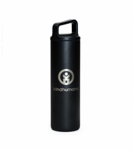 MiiR x Kindhumans 20oz. Wide Mouth Bottle with Laser Etched Logo