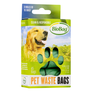 Pet Waste Bags on a Roll