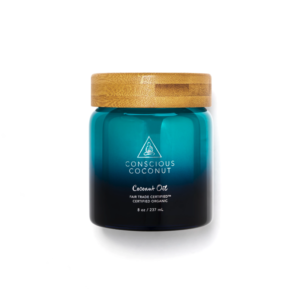 Conscious Coconut 8oz Jar of Coconut Oil