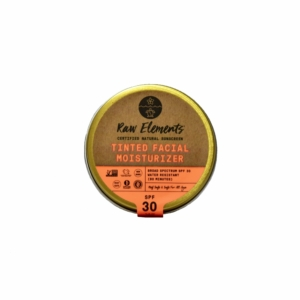 Raw Elements Tinted Facial Moisturizer SPF 30 *Plastic-free Tin*