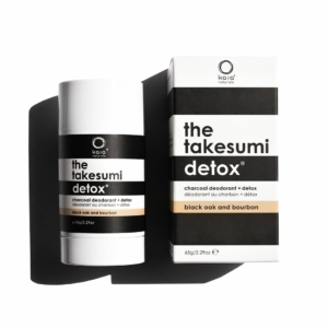 Charcoal Deodorant Black Oak & Bourbon