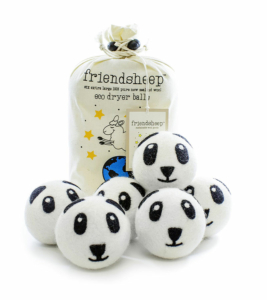 Friendsheep Panda Pack Eco Dryer Balls
